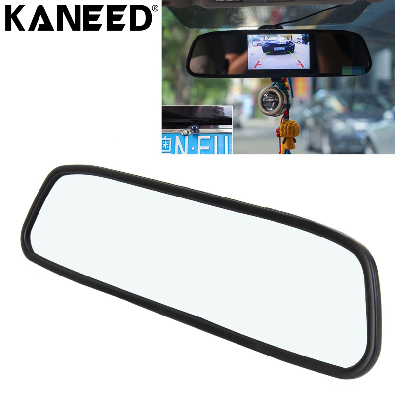 KANEED Car DVR Mirror Rearview-Camera Car-Monitor-Support-Reverse Automatic-Screen-Function