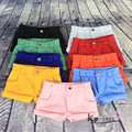 BJD doll short pants Candy-colored shorts cuffed slacks (BJD girl and boy pass wearing, multi color ~~~)