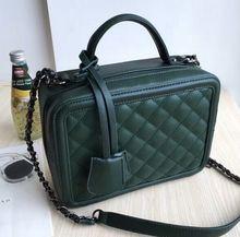 Quality diamond lattice car suture flap handbag, minimalist style classic fashion chain shoulder bag, new lady women bag