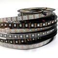 LED APA102/SK9822 30/36/60/96/144 leds/Meter APA102C 5 V Volledige kleur Flexibele Strip Licht IP30/IP65/Zwart PCB Wit PCB