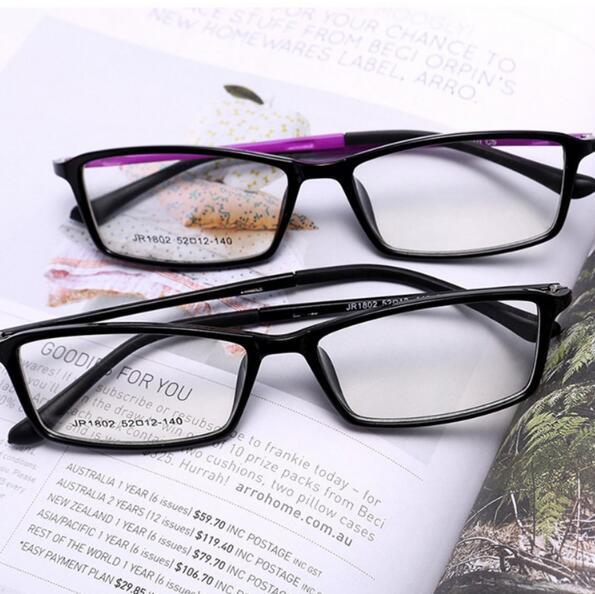 87b0f6a97dd Myopia TR90 Lenses Summer Eyeglasses Frames Eyewear Plain Glass Spectacle  Frame Silicone Optical Brand Eye Glasses Frame 1802-in Eyewear Frames from  Apparel ...