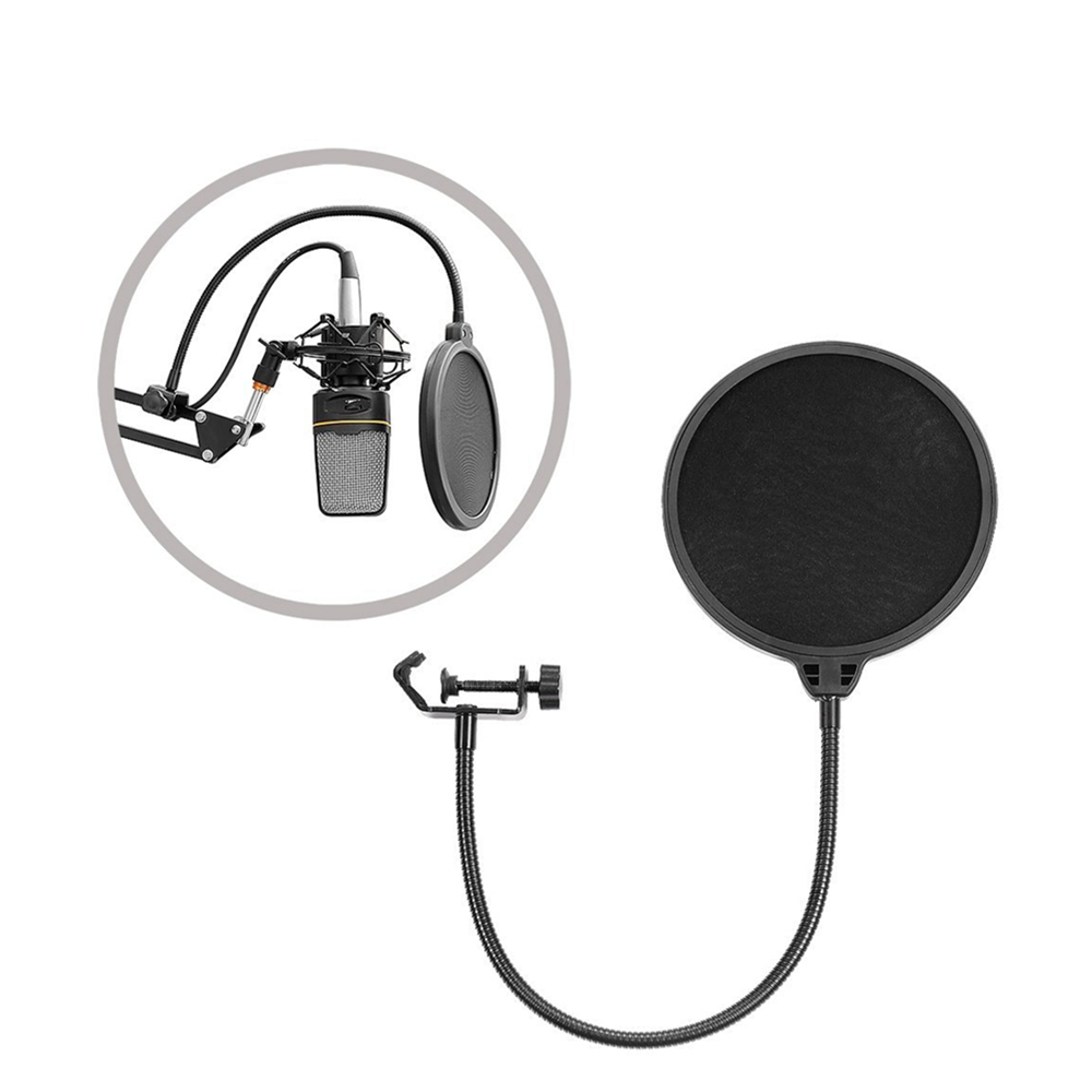yixiang high quality flexible studio mini microphone cover mic wind screen pop filter mask shied. Black Bedroom Furniture Sets. Home Design Ideas