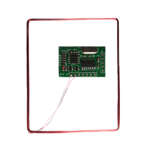 Image 2 - 134.2 KHZ Animal Tag Reading Module EM4305 Ear Tag Foot Ring Reader Module UART (9600, N, 8, 1) 5V 25mA