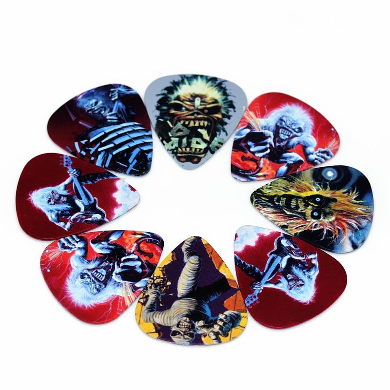 Nuevo Iron Maiden Par de PUA//PLECTRO pendientes de seis a elegir