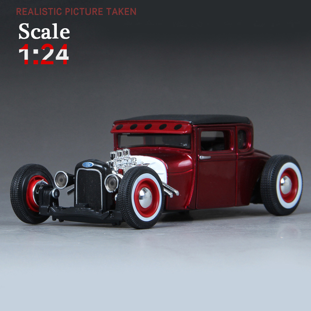 Maisto 1929 FORD MODEL A 1:24 Alloy Car Model Toys Diecasts & Toy Vehicles Collection Kids Toys Gift