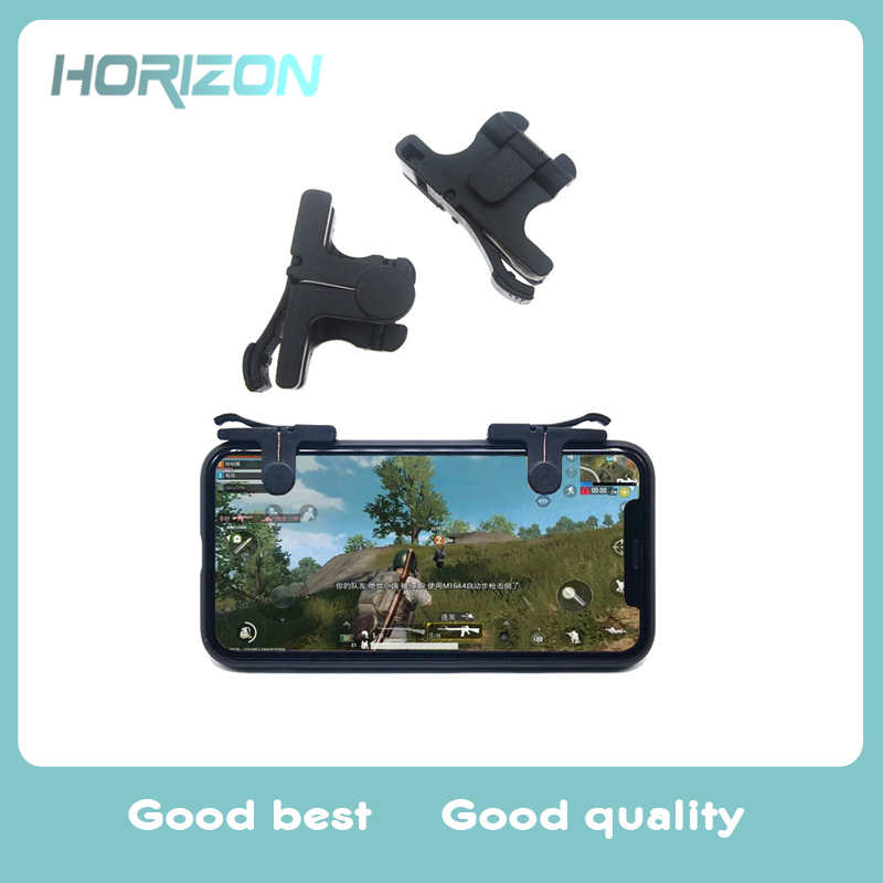 Knives Out Rules of Survival PUBG Mobile Game Shoot Fire Button Assistor Aim Key L1 R1 Controller Gamepad Joystick Android IO