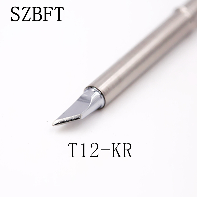T12 soldering iron tip interchageable with HAKKO T15 T12 for HAKKO FX-951 FX-952(K+J02+IL) ShineNow