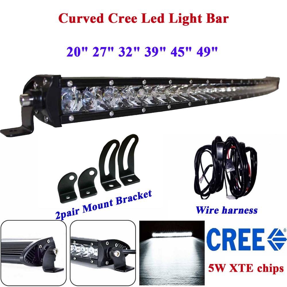 Courbe Led Light Bar 180 w 150 w 210 w 120 w 90 w 240 w Spot D'inondation Combo Led Travail Conduite Barra Led Camion 4x4wd Hors Route Bar 12 V 24 V
