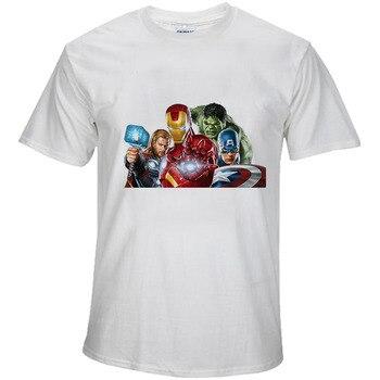 BTFCL Marvel los Vengadores END Logo del juego Hulk imprimir nueva película camiseta hombres Cool Tees Unisex suelta de talla grande Harajuku camiseta