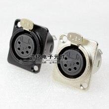 10pcs 5 Core XLR Female Socket Pin Microphone Audio jack