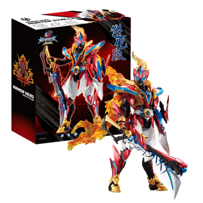 Image 2 - COMIC CLUB in stock AULDEY Armor Hero Chronicles Emperor Hero Dragon Armor evolution version action figure toyAction & Toy Figures   -