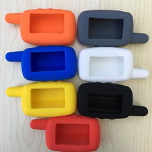 7 Colors Option High Quality A9 Silicone Case for Russian Two Way Car Alarm Starline A9 A6 A8 LCD Transmitter Remote Controller