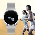 Bluetooth 4.0 Low Power Consumption Waterproof Smart Watch 0.66 Inch OLED Screen Display Smart Watch