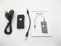 2in1 Wireless Stereo Bluetooth Receiver & Bluetooth Transmitter Audio Music Box audio Bluetooth Adapter to Pad speaker I-010