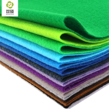 2015 New High Quality  Mix color Soft Polyester Nonwoven Felt Fabric DIY Pack 1.5MM Thick 24PCS/lot 30X30CM RN-24-2