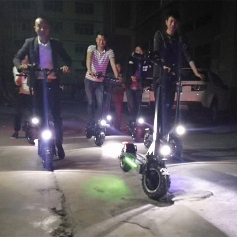 HOT NEW Product 2400W 60V 26Ah Powerful Mobility Electric Scooter oxboard giroskuter Dualtron Ultra