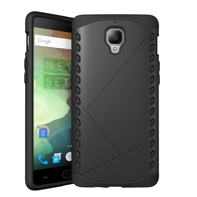 OnePlus 3 Case , Slim Hybrid Dual Layers ShockProof Defender Armor Cover Case For OnePlus 3  A3003  Shell Cases / Tempered Glass
