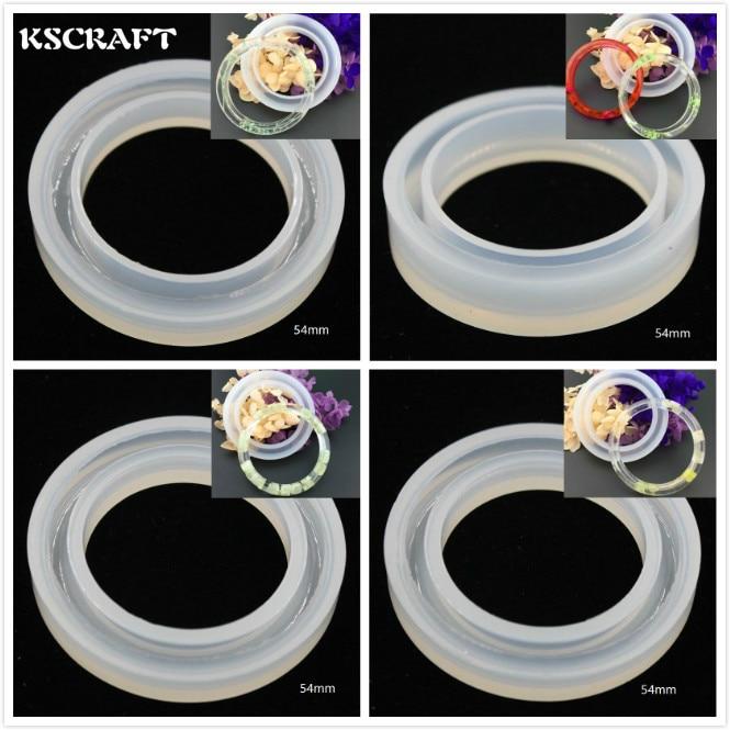 Kscraft 1 шт. различных Форма конструкции кабошон кремния плесень смолы браслет Плесень DIY ручной Craft