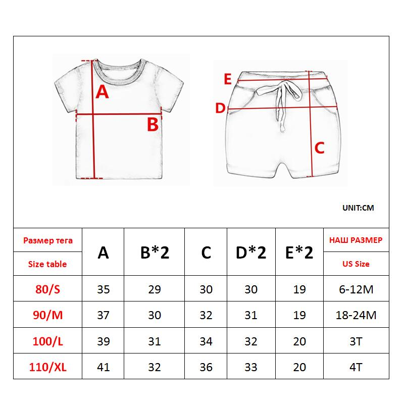 Summer Kids Toddler Boy Clothing Set Car Shirt Jeans 1 2 3 4 Years Short Sleeve Cotton Suit Children Clothes Boys Outfit 6