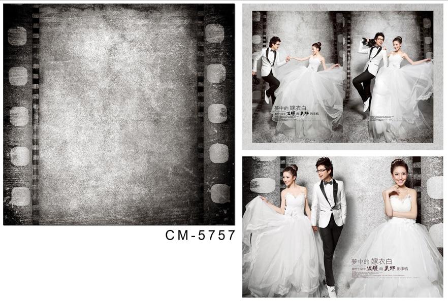 Customize vinyl cloth dancer dark room film wallpaper photo studio background for wedding portrait photography backdrops CM-5757