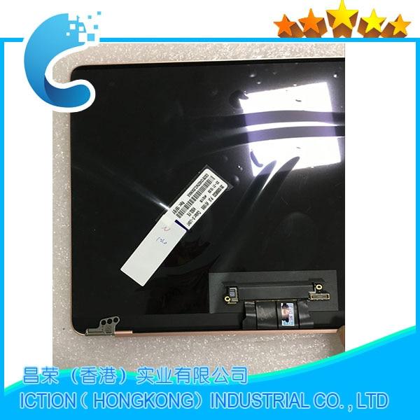 Original nouveau A1534 LCD écran affichage assemblée pour macbook 12 A1534 LCD écran affichage assemblée 2015 2016 ans