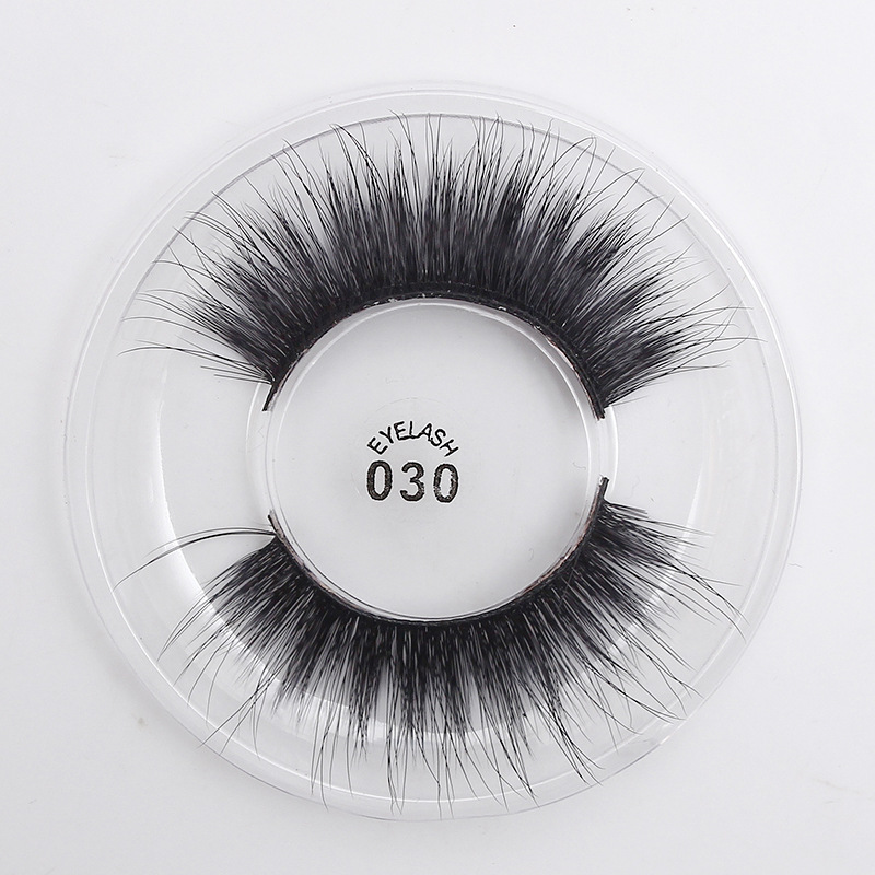 New Material Silk Eyelashes Thick Long Cross Soft Lash Handmade Individual