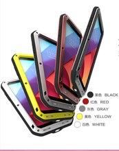 Di alluminio del Metallo Caso Armatura Per LG G7 Caso ThinQ G6 V10 V20 V30 V40 + Gorilla Glass Antiurto Copertura 360 full Body Custodia protettiva