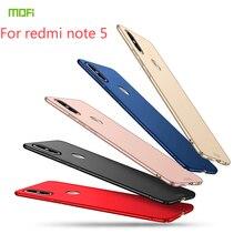 For Xiaomi Redmi Note 5 Case MOFI PC Hard Case For Xiaomi Redmi Note 5 Cover Phone Shell Fitted Cases For Redmi Note 5