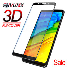 3D Pieno della copertura di Vetro Temperato Per Xiaomi Redmi 5 5A 5 Più Nota 5 Pro 5A Dello Schermo di Vetro di Protezione Su redmi 4 4X S2 Nota 4 4X Pellicola