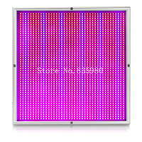 1X 200W 45W 30W Full Spectrum Panel LED Grow Light AC85 265V Greenhouse Horticulture Grow Lamp