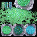 1 Box Hexagon Glitter Paillette Ultra-thin Sequins Manicure Nail Art Decoration 7-11