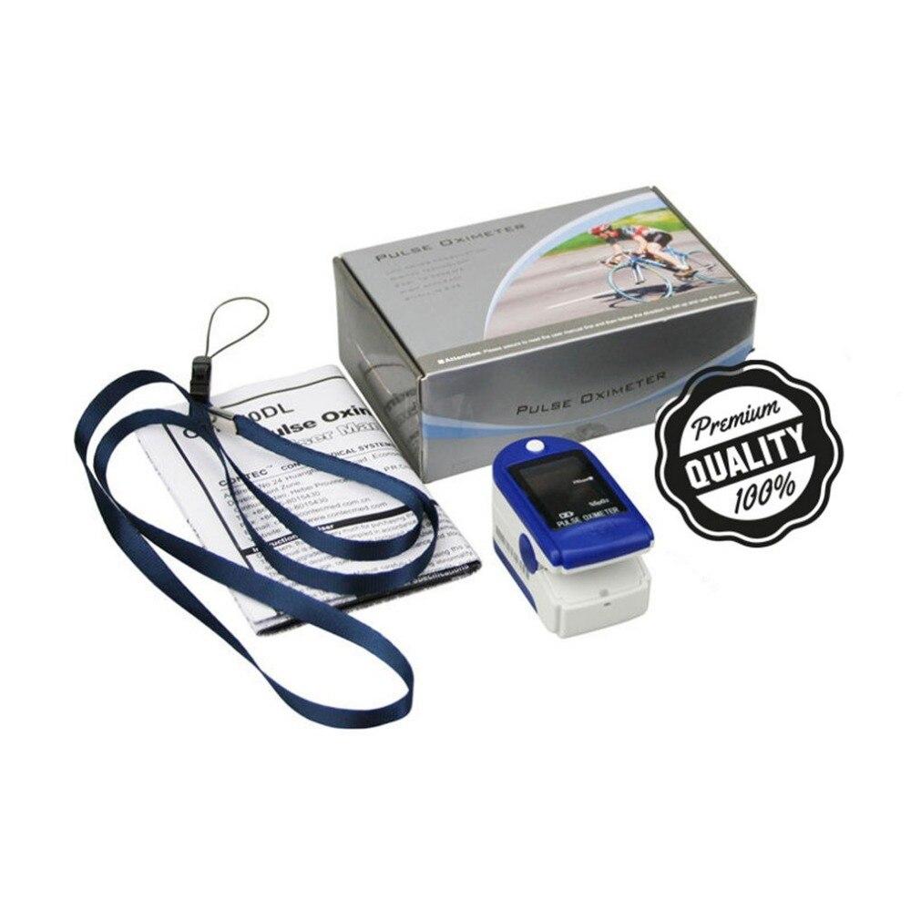 Пальцевой Пульсоксиметр SPO2 PR маленький oled-дисплей портативный пальцевой пульсоксиметрический пальцевой зажим измеритель кислорода в кров...