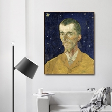 Eugène Boch by Vincent Von Gogh Poster Print Canvas Painting Calligraphy Home Decor Wall Art Pictures for Living Room Bedroom