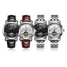 AESOP Mechanical Watch Men Fashion Complete Calendar Waterproof Top Brand Available Strap Luxury Tourbillon Wristwatch Relogio