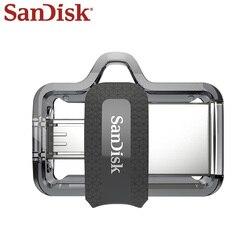 Флеш-накопитель sandisk OTG Micro Usb 32 Гб U диск двойной накопитель 16 ГБ USB флеш-накопитель 128 Гб карта памяти USB 3,0 64 Гб Высокое качество
