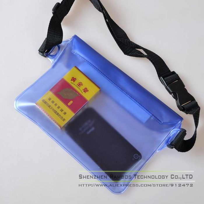 Etui Coque Capa Celular Swimming Rafting Waist Packs Waterproof