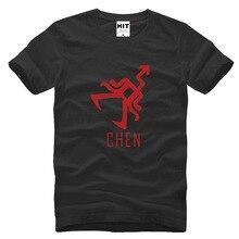 wolf 88 XOXO Chen Printed Mens Men T Shirt Tshirt Fashion 2015 New Short Sleeve O Neck Cotton T-shirt Tee Camisetas Hombre