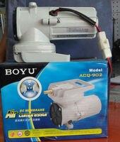 New BOYU ACQ 902 DC 12V 38L/min 18W Aquarium Air Compressor Aquaculture Water Fish Aeration Hi Pressure Pump Free Shipping
