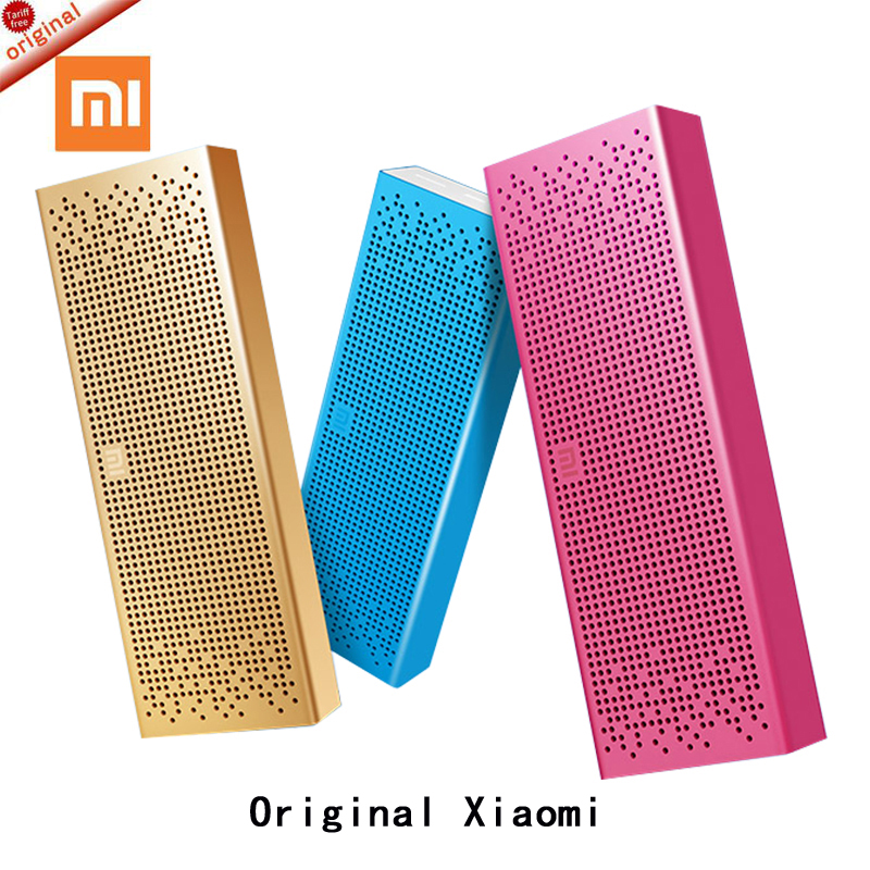 100%Original xiaomi mi Bluetooth Speaker Wireless Stereo Mini Portable MP3 Player Pocket Audio Handsfree with Mic TF Card AUX-in free shipping original xiaomi mi speaker bluetooth portable wireless stereo loud speaker box for smartphone support tf sd card
