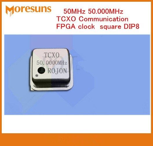 Horloge de Communication FPGA DIP8 20 MHz 37 MHZ 25 MHz 48 MHz 52 MHz 50 MHz 60 MHz 65 MHz 80 MHz 100 MHz 0.1ppm TCXO oscillateur à cristal