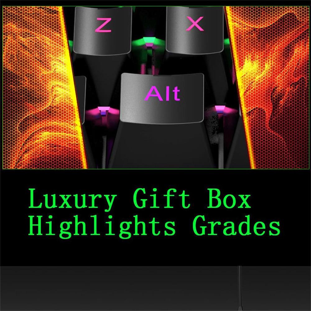 Image 5 - J100 Wired Gaming Keypad mini K 35 Keys LED Backlit Usb Ergonomic Single Hand Keypad Gaming Keyboard for LOL/PUBG/CF-in Keyboards from Computer & Office