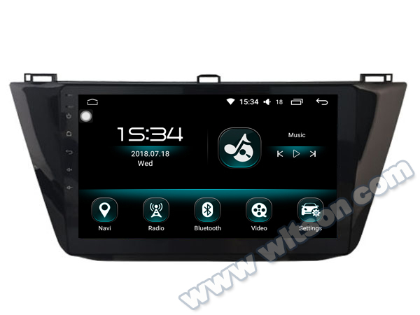 "WITSON Android 8.0 10.2"" CAR DVD WITH GPS For VOLKSWAGEN TIGUAN 2017 CAR RADIO NAVIGATION SYSTEM CAR STEREO CAR AUDIO PLAYER"