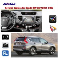 Liislee For Honda CRV CR-V 2012~2015 Car Reverse Rear View Camera / Compatible Original Screen RCA Adapter Plug & Play