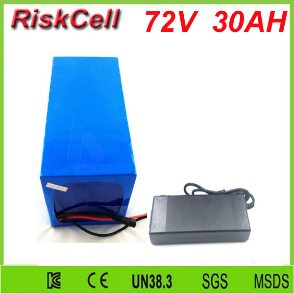 Free Customs taxes customized  lithium ion high capacity 72v 30ah lithium ion battery pack with 3500w BMS for motor starting free customs taxes rechargeable lithium battery 48v 12ah lithium ion battery 48v 12ah li ion battery pack 2a charger 20a bms