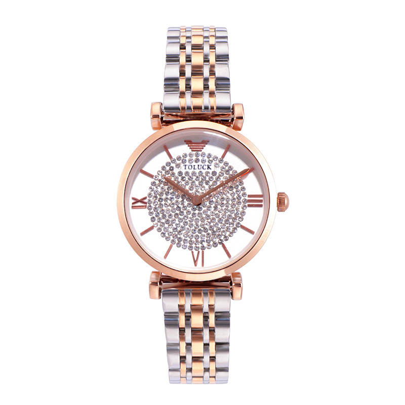 High Quality Women Watch Ar Brand Luxury Women Watches Solid Stainless Steel Quartz Female Casual Watch Full Diamond Women Gift