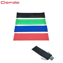 New Arrival Resistant Bands Rubber Bands 4 Strength Specifications Leg Training Fitness Resistance Bands Free Shipping