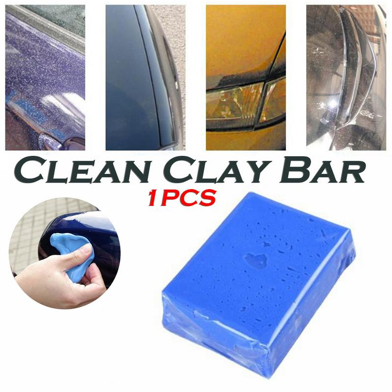Collection Here New1pc Magic Clean Clay Bar Car Truck Blue Cleaning Clay Bar Car Detail Clean Clay Care Tool Sludge Washing Mud Car Washer Sponges, Cloths & Brushes