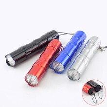 Hiking Mini Flashlight Waterproof High Power Powerful LED Fl