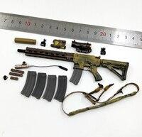 1/6 26020R CAG HK416 Weapon Gun Set Models for 12''Bodies Accessories