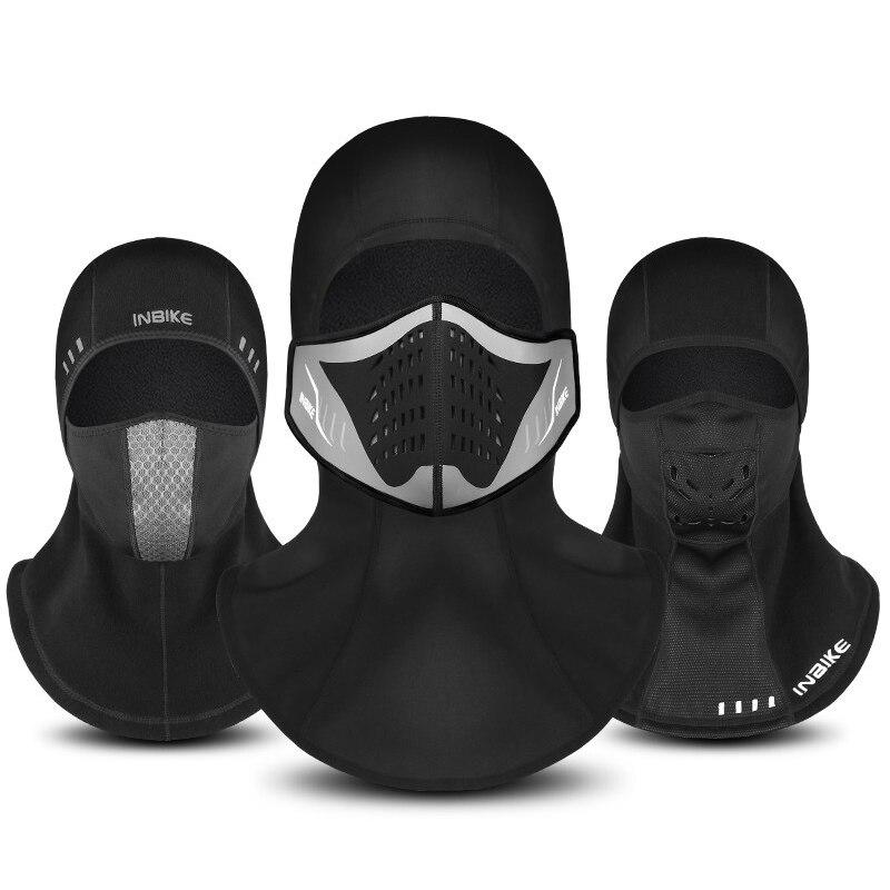 Masque de vélo visage hiver froid chapeaux vélo visage masque casquette Ski thermique polaire Snowboard bouclier chapeau cyclisme masque